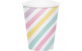 כוסות חם/קר חד קרן מהודר קרוסלה פסטל