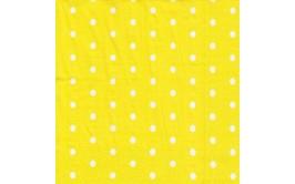 חבילת מפיות צהוב נקודות