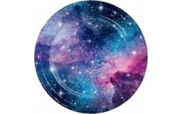 מארז צלחות גדולות מסיבת גלקסיה