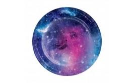 מארז צלחות קטנות מסיבת גלקסיה