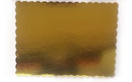 """קרטון קשיח עבה דו צדדי לעוגה גודל 50*40 ס""""מ"""