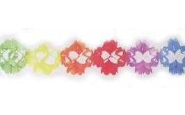 שרשרת נייר בצבעוניות מקסימה
