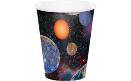 מארז כוסות שתייה חמה/קרה הרפתקה בחלל