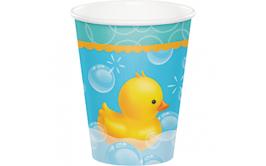 כוסות שתייה חמה/קרה דגם ברווזים
