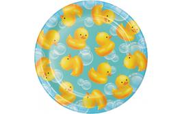 צלחות קטנות דגם ברווזים