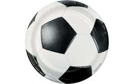 מארז 8 צלחות קטנות כדורגל