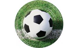 מארז 8 צלחות גדולות כדורגל