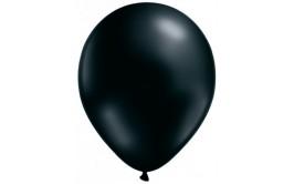 סט 10 בלונים צבע שחור