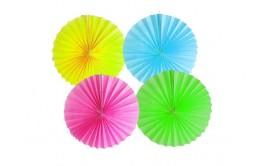 מארז 4 טיטוס צבעי נאון צבעוני