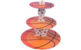 מעמד לקאפקייקס דגם כדורסל