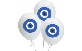 מארז 5 בלונים דגם עין כחולה
