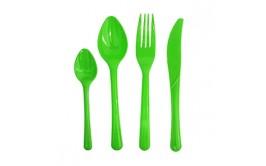 מארז 50 כפיות צבע ירוק