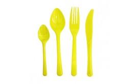 מארז 50 סכינים צבע צהוב