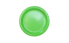 מארז 24 צלחות גדולות צבע ירוק