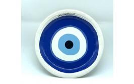 מארז 16 צלחות גדולות עין כחולה