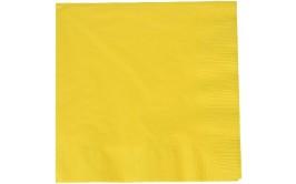 חבילת מפיות דו שיכבתי צהוב