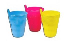 כוס קשית פלסטיק גדולה