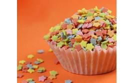 סוכריות לקישוט צבע מאכל טבעי כוכבים