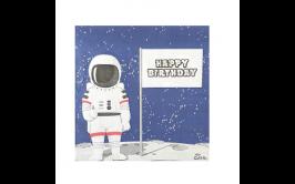 מארז מפיות אסטרונאוט בחלל