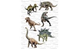 טרנספר לעוגה דינוזאורים 867
