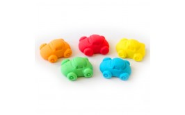 5 מכוניות צבעוניות מבצק סוכר