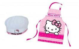 סינר ילדים עם כובע דגם הלו קיטי