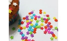 סוכריות דגם כוכבים צבעוניים