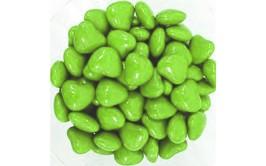 מארז עדשים לבבות ירוק