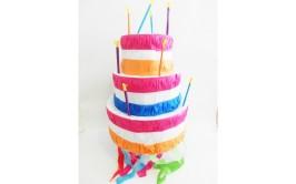 פיניאטה בצורת עוגה 3 קומות+מקל