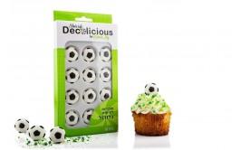 סוכריות כדורגל לקישוט עוגה/מאפינס