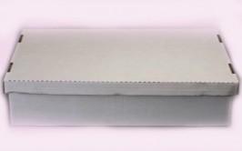 קופסת קרטון עם מכסה לעוגה מלבנית 11*33*48