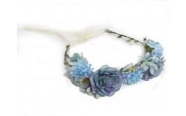 זר פרחים מרהיב ורד מיקס טורקיז