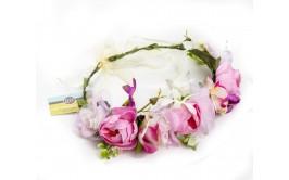 זר פרחים מרהיב מיקס נוריות ורוד