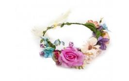 זר פרחים מרהיב מיקס ורדים