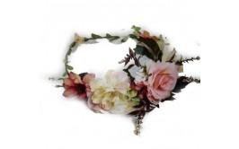 זר פרחים מרהיב ורד מיקס ורוד אפרסק