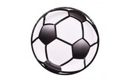 מארז צלחות גדולות דגם כדורגל