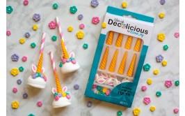 סוכריות אלמנטים חד קרן להכנת סוכריות/ עוגה/מאפינס