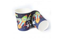 מארז כוסות נייר חלל חדש