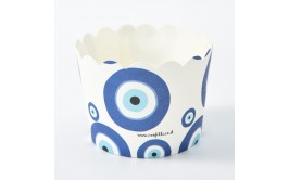 מארז 50 גביעי קאפקייקס עין כחולה