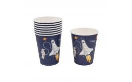 מארז כוסות אסטרונאוט בחלל