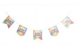 שרשרת דיגלונים פסים צבעוני