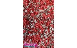 סוכריות מיקס אדום כסף מרהיב