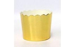 מארז 40 גביעי קאפקייקס זהב