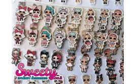 מארז 36 בובות לול קטנות חתוכות