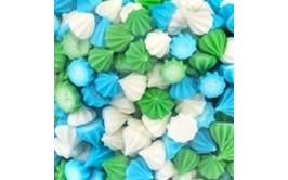 מארז טיפטופי סוכר מיקס ירוק תכלת לבן