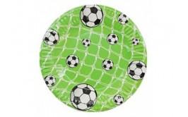 מארז צלחות קטנות דגם כדורגל