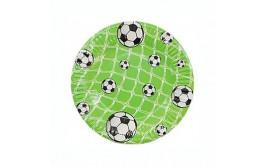 מארז צלחות גדולות כדורגל