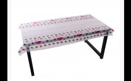 מפת שולחן ניילון דגם פלמינגו