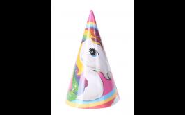 מארז 8 כובעי יום הולדת חד קרן