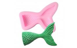 תבנית סילקון סנפיר בת הים